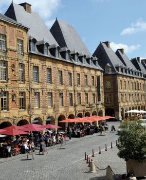 Charleville et la vallée de la Meuse