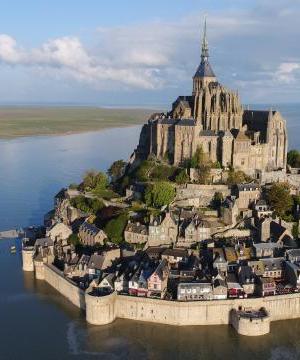 Le Mont St Michel et Deauville